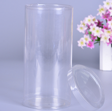 Daily Use Cylinder Clear PVC Plastic Packing Box