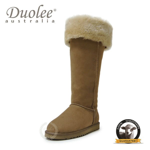 Duolee Australia Sheepskin cheap boots for women