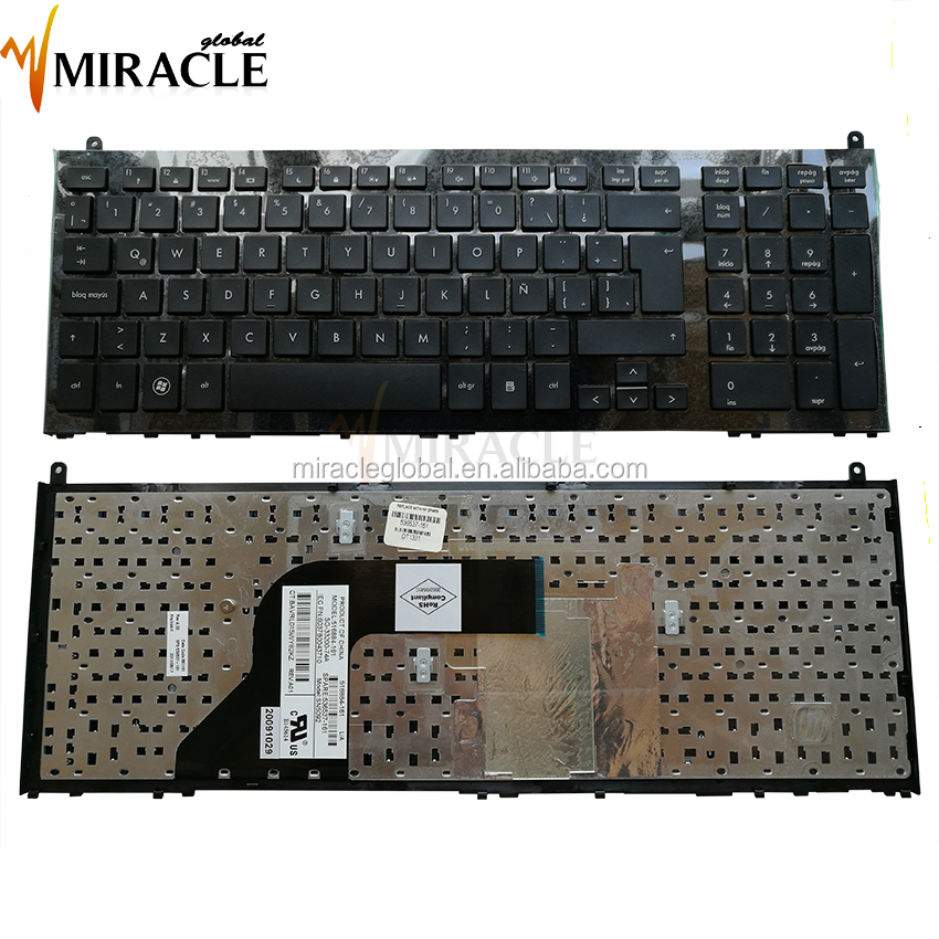 Original NEW Laptop keyboards for HP 4710 LA backlit laptop Keyboard with frame