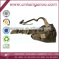 600D military leg gun holster with buckle
