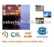 Ocean/sea freight/freight forwarding service(FCL and LCL) from China to Bin Kasim,Pakistan