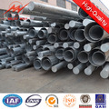 69KV- 220KV Galvanised Utility Transmission Line Steel Pole