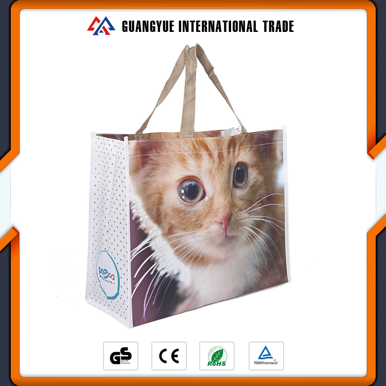 Guangyue High Demand Products India Laminated Cheap Printed PP Non Woven Reusable Shopping Bags