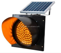 Yellow LED Solar Blinking Lights