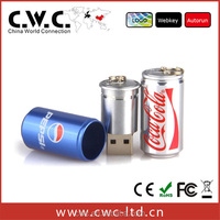High Speed PVC / metal beer bottle cheap usb 2.0 flash drive