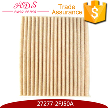 China auto parts manufacturer car air filter for D50/R50 OEM:27277-2FJ50A
