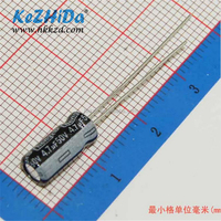 KeZHiDA#Special Promotions# Direct selling 20pcs Aluminum Electrolytic Capacitor 450V 6.8UF 10x20mm Through Hole
