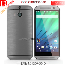 M8 Snapdragon 801 quad core original high quality used low price 5.0 inch 3g 4g smartphone with wifi NFC for Southeast Asia