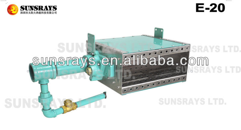Air heater burner E-20 for drying lines