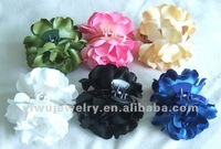 Fashion Accessories Cheap Girs Headwear Decorative Fabric Flower Hair Claw