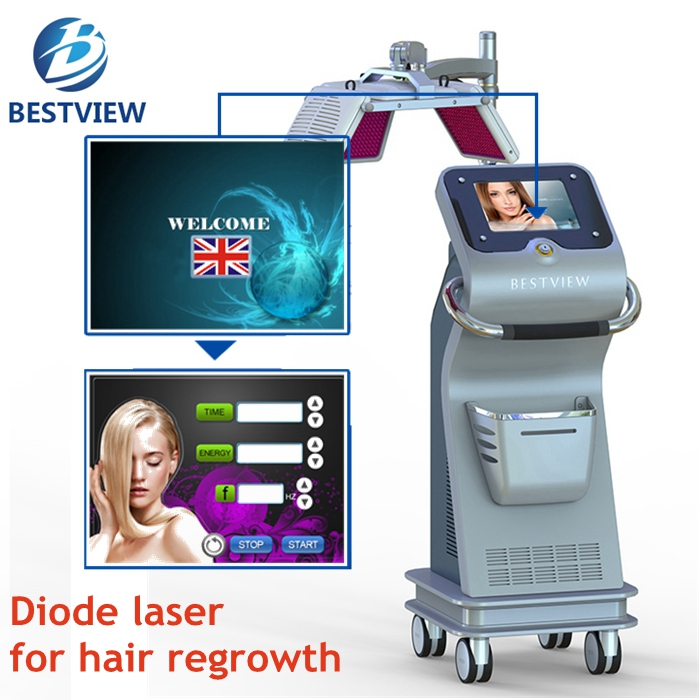 Clinicer beauty equipment hair growth high frequency machine