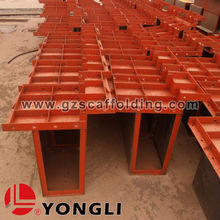 New Design Steel Concrete Slab Beam Column Panel Formwork