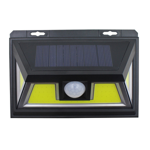 Outdoor waterproof security solar lights solar wall led light battery powered 24 led PIR solar motion sensor light