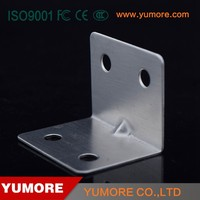 Fixed table high quality metal furniture l corner tv bracket