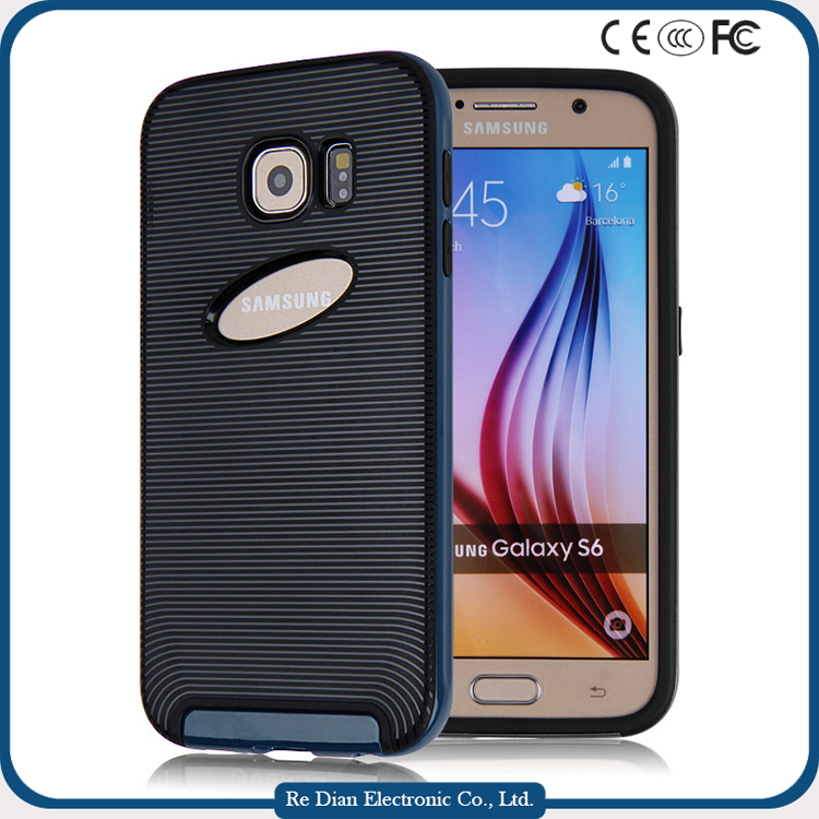 in many style New product upcoming custom newest design rugged cell phone case for samsung S6 S7