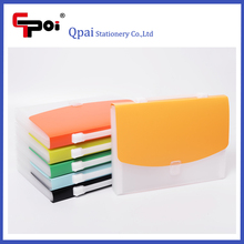 Stationery Office Transparent PP 13 Pockets A4 Expanding Folder With Lock Accordion Folder