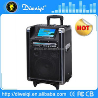 best selling multifunction trolley speaker with 7 inch display