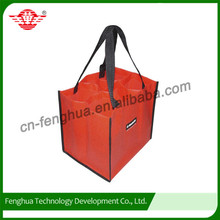 Customized widely used bulk reusable wine tote bags