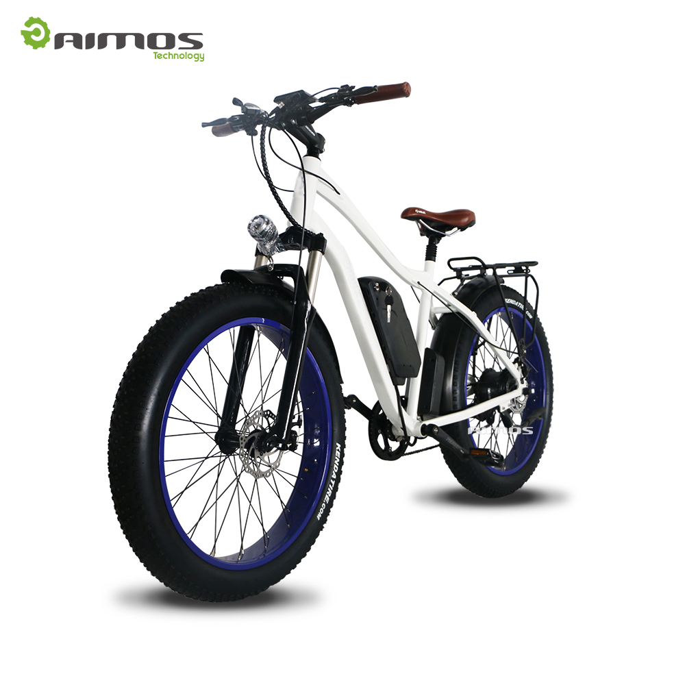 "Cool appearance promotion fat tire 26"" electric bikes with brake sensor made in China"