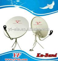 offset solid satellite dish