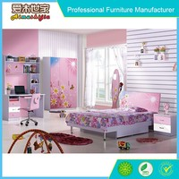 Classical design latest style girls princess bed, latest double bed designs, bali style wood bed