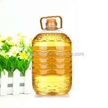 Refined sunflower oil and crude oil