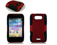 mesh combo case for all brand models,Guang Zhou mobile phone case,case for LG L5II