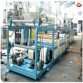 plastic filament extruding machine