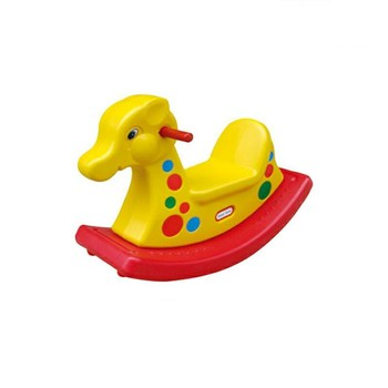 2018 Hot selling new design outdoor playground rocking horse rocking horse plastic spring rocking horse for kids