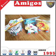 hot Friction animal car four styles cute friction toy truck