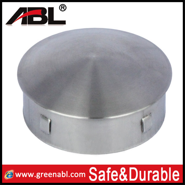 Mm size stainless steel pipe end cap buy