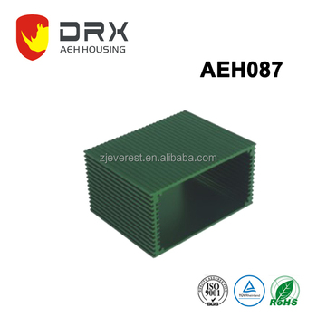 aluminum project housing / box / case aluminum pcb enclosure Aluminum extruded metal electrical case aluminum extruded enclosure