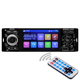 car radio stereo jsd-3001 car audio 4 inch touch screen auto audio mirror link stereo bluetooth rear view camera USB AUX player