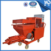 Spraying 360 degree angle Auto Rendering Machine/wall plaster spraying machine for sale (10m conveying hose)