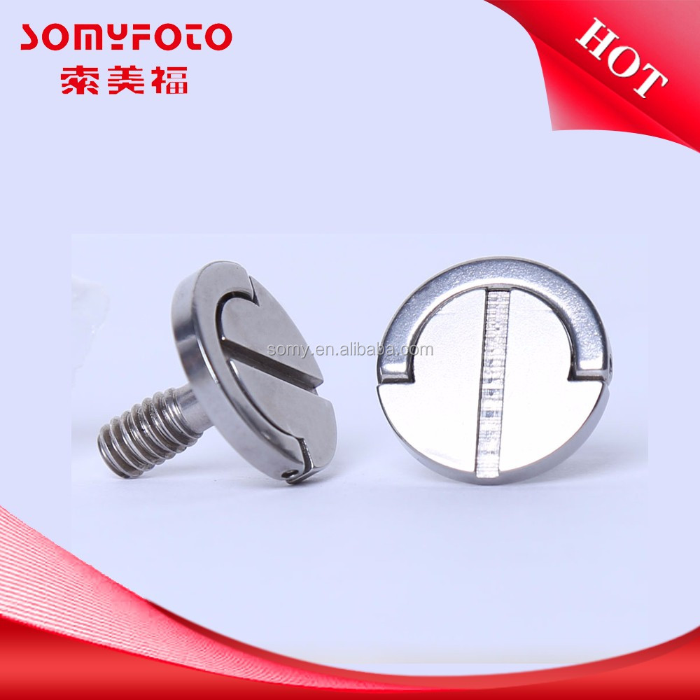 Hot china products wholesale metric size 1/4 inch tripod screw/camera screw , mini screw for camera