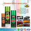 Chrome effect colors car spray paint