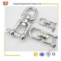 heavy duty stainless steel swivel with jaw and eye with excellent service