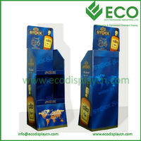 New Design Promotional Display Stand Cardboard Booth Display Stands for Sale