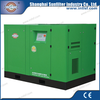 110KW electrical portable oil free scroll air compressor for sale