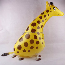 Cheap factory CE approved giraffe shaped walking balloons wholesales