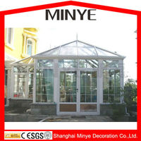 Aluminum winter garden/glass room made in china