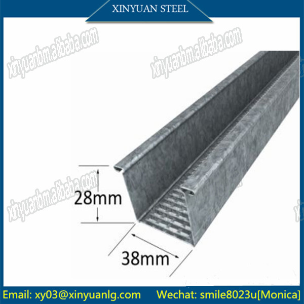 Australia #A129 28mm*38mm Furring Channel for Building