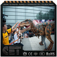 Cetnology-latest technology dinosaurus mascot costume dinosaur suit