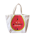 durable fashion printed cotton bag