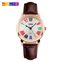 Online Shopping New Design Custom Your Own Logo Leather watch,Fashion 2015 oem woman watchs