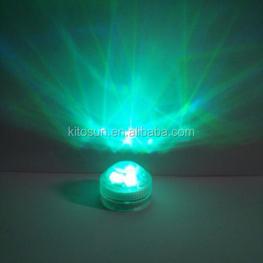 New Arrival RGB multi colors Submersible Floralytes candle LED tea Light for birthday party decoration