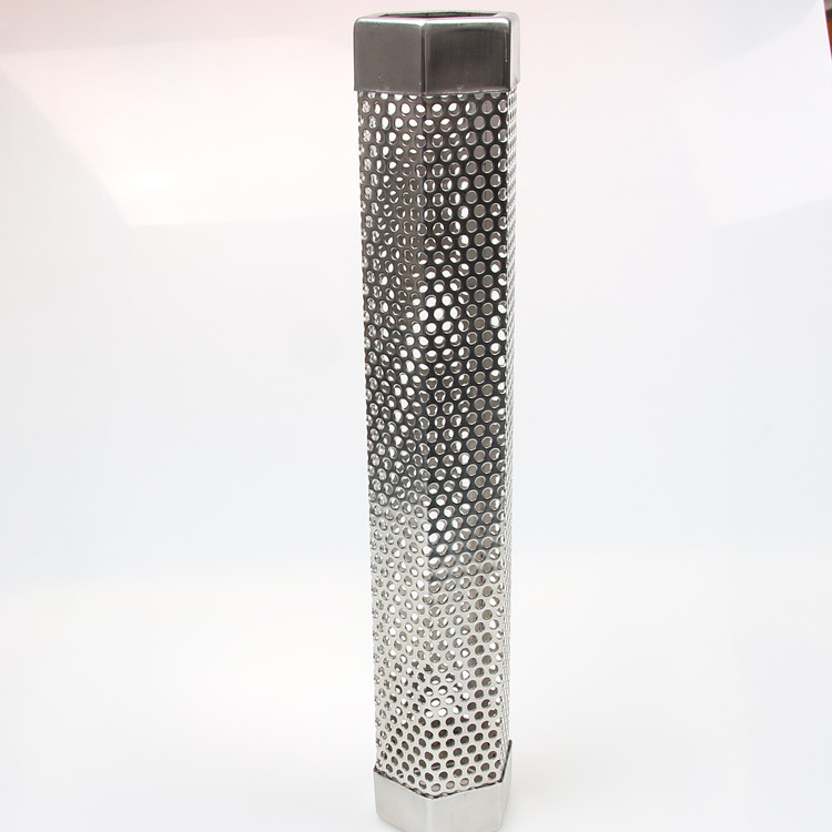 12 Inch BBQ Pellet Smoker Tube <strong>Stainless</strong> Steel Wood Pellet Tube Smoker for Hot or Cold Smoking, Hexagon Tube