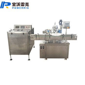 Automatic eliquid filling capping machine for chubby gorilla bottle eliquid filling