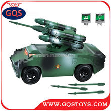 1:48 scale sound and light metal model missile-type military armoured vehicle tank for sale