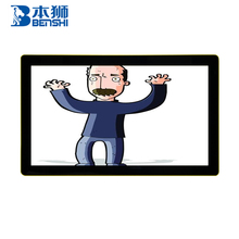 17 inch wall mount 16:10 android advertising digital signage 9 taxi advertising player